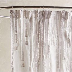 Anthropologie Bath - NEW Anthropologie Wisteria shower curtain
